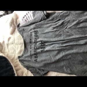 Gray Abercrombie short sleeve